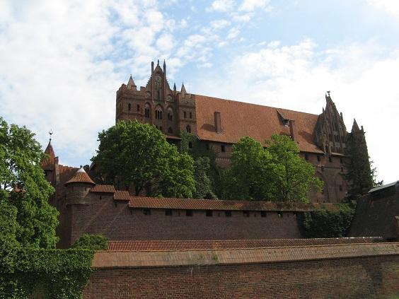 Die Marienburg in Polen: Der größte Backsteinbau der Welt / Fotos: SanFte für Burgerbe.de