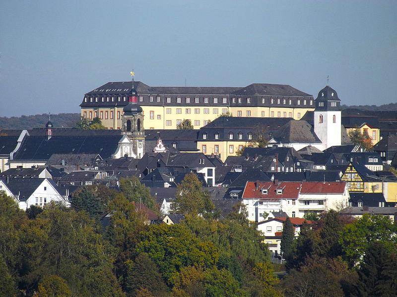 Schloss hachenburg prachtbau der bundesbank Burg hachenburg