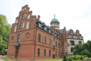 Rücksteite von Schloss Wiligrad / Foto: Burgerbe.de