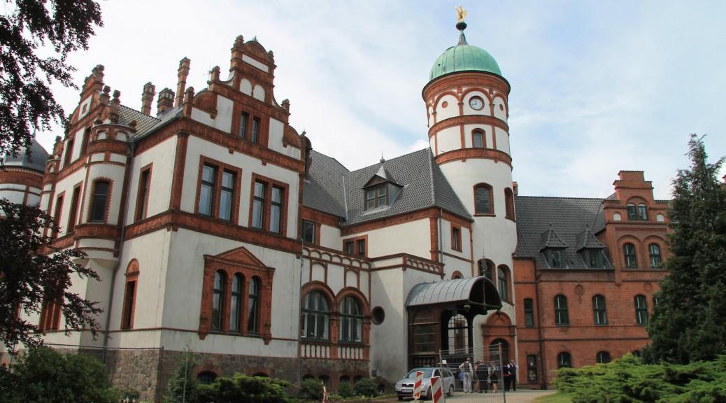 Schloss Wiligrad kurz vor Abschluss der Sanierung / Foto: Burgerbe.de