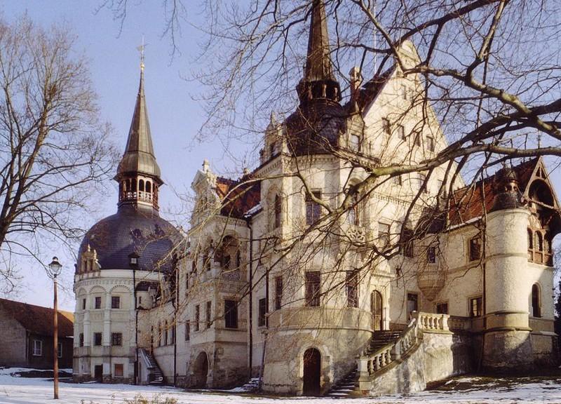 Schloss Schönfeld / Foto: Wikipedia / Dubelleser / CC-BY-SA 3.0