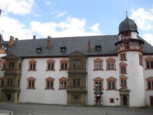 Ein Teil des Burgenmuseums wird im Französischen Bau untergebracht
