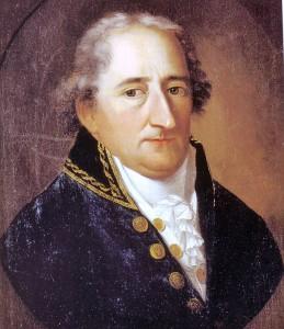 Freiherr von Stein auf einem Gemälde von Johann Christoph Rincklake / gemeinfrei