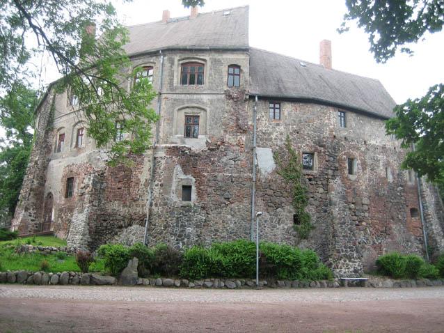 Burg Roßlau / Foto: Burgerbe