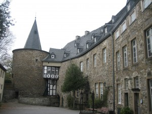Innenhof von Schloss Hohenlimburg