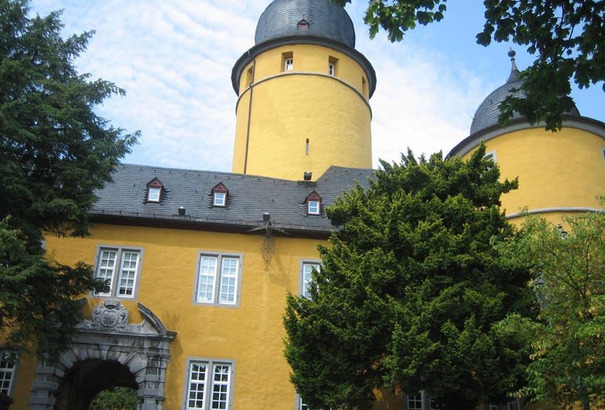 Schloss Montabaur, heute ein Tagungshotel / Foto: Burgerbe.de