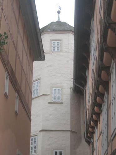 Schloss Fallersleben: Der Treppenturm