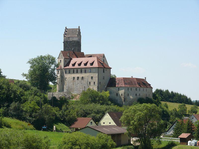Burg Katzenstein / Foto: Wikipedia / Bernd Haynold / CC-BY-SA 2.5
