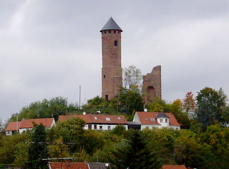 Die Ruine von Burg Kirkel / Foto: Wikipedia / Christian Bohr / CC-BY-SA 3.0