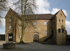 Hochschloss von Schloss Broich / Foto: Wikipedia / Tuxyso / CC-BY-SA 3.0