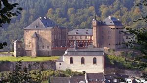 Blick von Osten auf Schloss Malberg / Foto: Wikipedia / flickr-User Erno Hannink / CC-BY-SA 3.0
