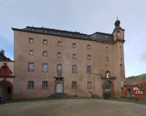 Der Altbau von Schloss Malberg / Foto: Wikipedia / Sir Gawain / CC-BY-SA 3.0
