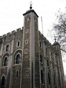Normannische Zwingburg: Der White Tower in London / Foto: Burgerbe.de