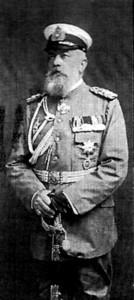 Schlossherr Vize-Admiral Albert von Seckendorff / gemeinfrei