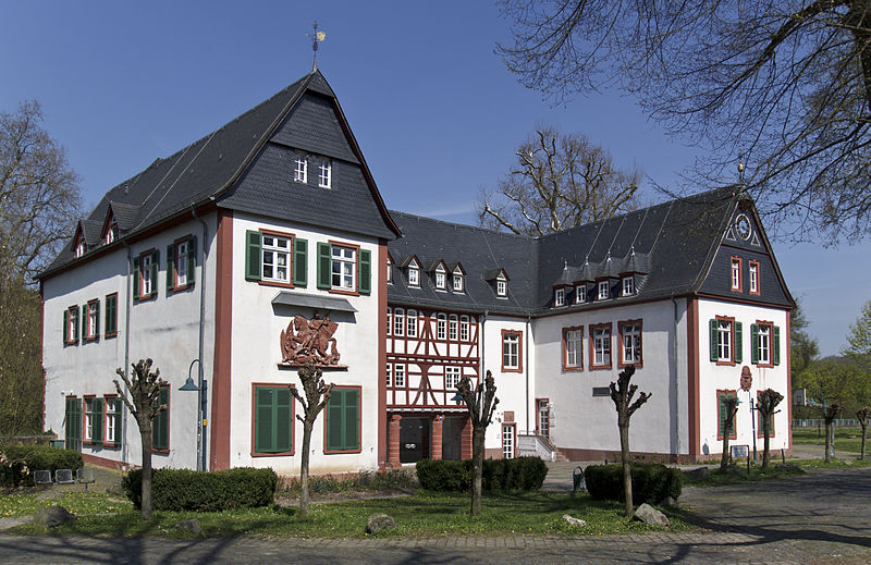 Ein Renaissance-Schmuckstück: Für das Alte Schloss Büdesheim werden jetzt per Bieterverfahren Käufer gesucht / Foto: Wikipedia / Rudolf Stricker / CC-Lizenz