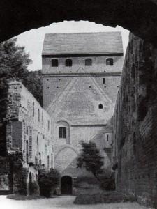 In der Burg Balga (Ansicht aus den 1930er Jahren / gemeinfrei
