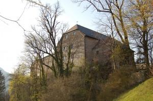 Burg Marquartstein aus Südosten / Bild: gemeinfrei