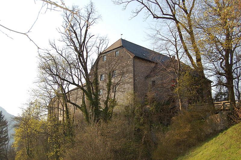 Burg Marquartstein aus Süd-Osten / Bild: gemeinfrei