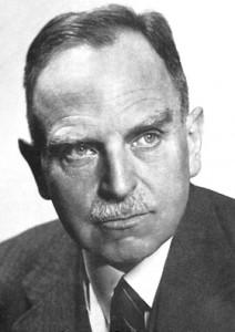 Nobelpreisträger Otto Hahn besuchte das geheime Labor auf Schloss Brand in den letzten Kriegsmontaten mehrfach. Foto von 1938, gemeinfrei