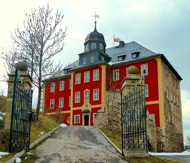 """Drehort von """"Bares für Rares"""" war auch Schloss Brandenstein / Foto: gemeinfrei"""