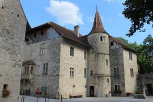Innenhof von Schloss Hallwyl
