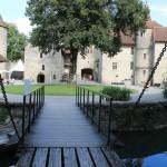 Schloss Hallwyl: Laser macht Ornamente sichtbar