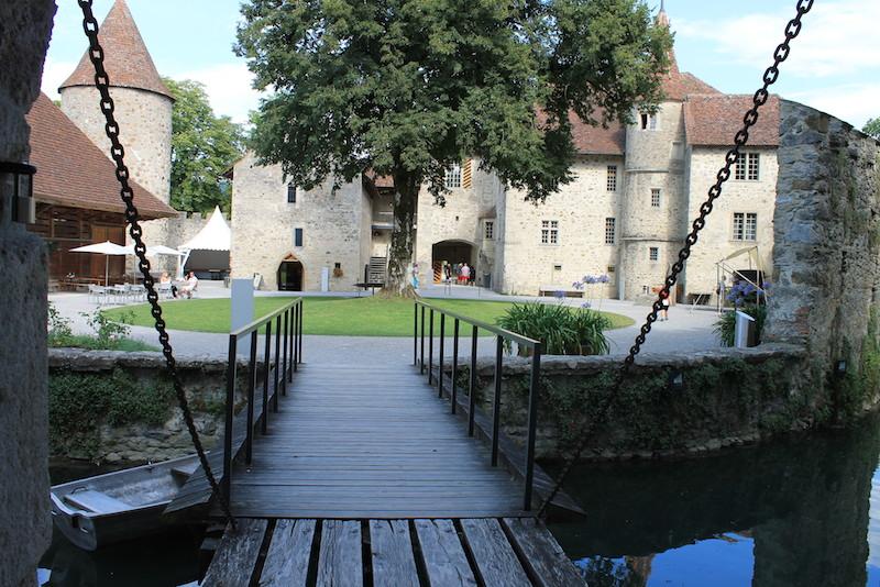 Schloss Hallwyl Innenhof