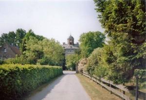 Schloss Arff heute: Blick durch den Schlosspark / Foto: gemeinfrei