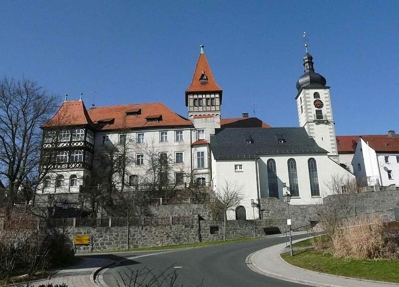 Schloss Brand bei Marktredwitz / Foto: gemeindrei