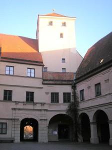 Torturm von Schloss Friedberg / Foto: Wikipedia / Dark Avenger / CC-BY-SA 3.0