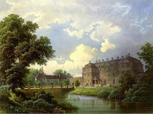 Schloss Schlobitten um 1860 / Bild: Sammlung Duncker / gemeinfrei
