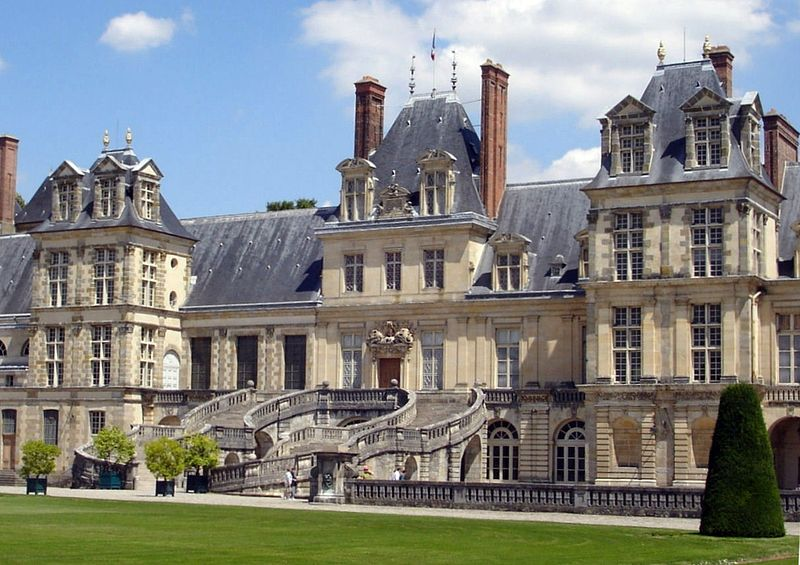 Schloss Fontainebleau bei Paris / Foto: Wikipedia / Carolus / CC-BY-SA 2.5