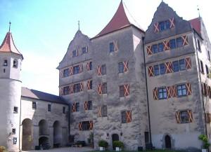 Der Fürstenbau von Burg Harburg / Foto: Wikipedia / Mafi. B. / CC-BY-SA 3.0