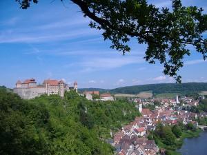 Blick auf Burg und Stadt Harburg / Foto: Wikipedia / Manfi. B. / CC-BY-SA 3.0