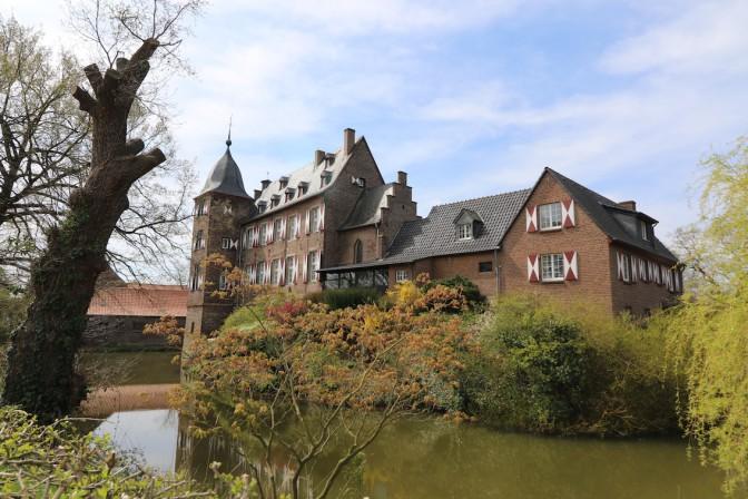 Die Rückseite von Burg Kühlseggen / Fotos: Burgerbe.de