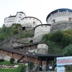 Festung Kufstein: Zugang zu Luftschutzstollen freigesprengt
