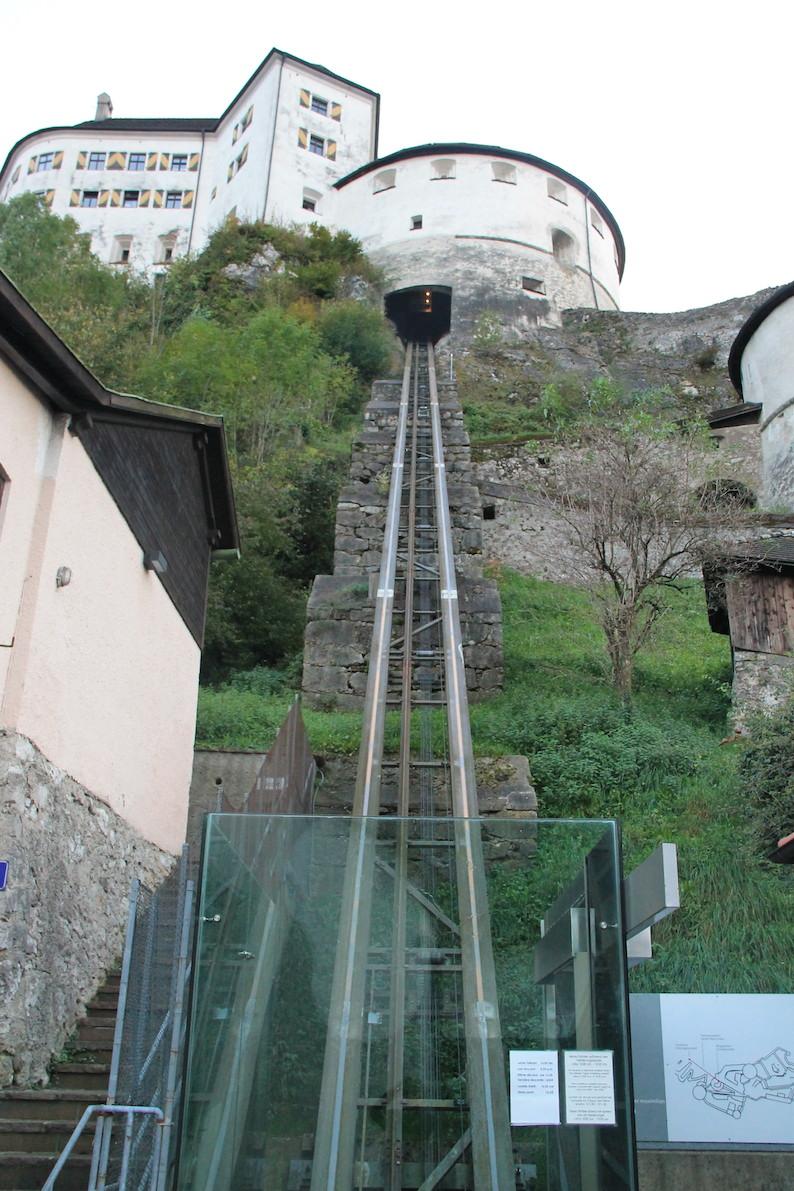 Festung Kufstein Aufzug