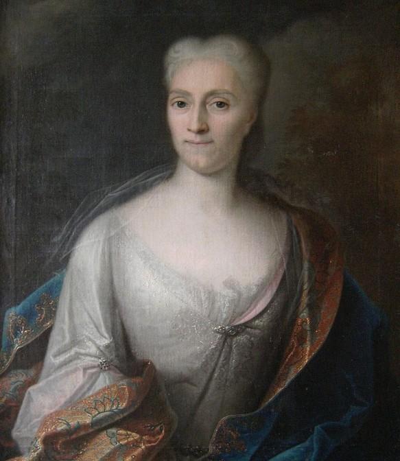 Gräfin Cosel während ihrer Haftzeit / Bild: gemeinfrei