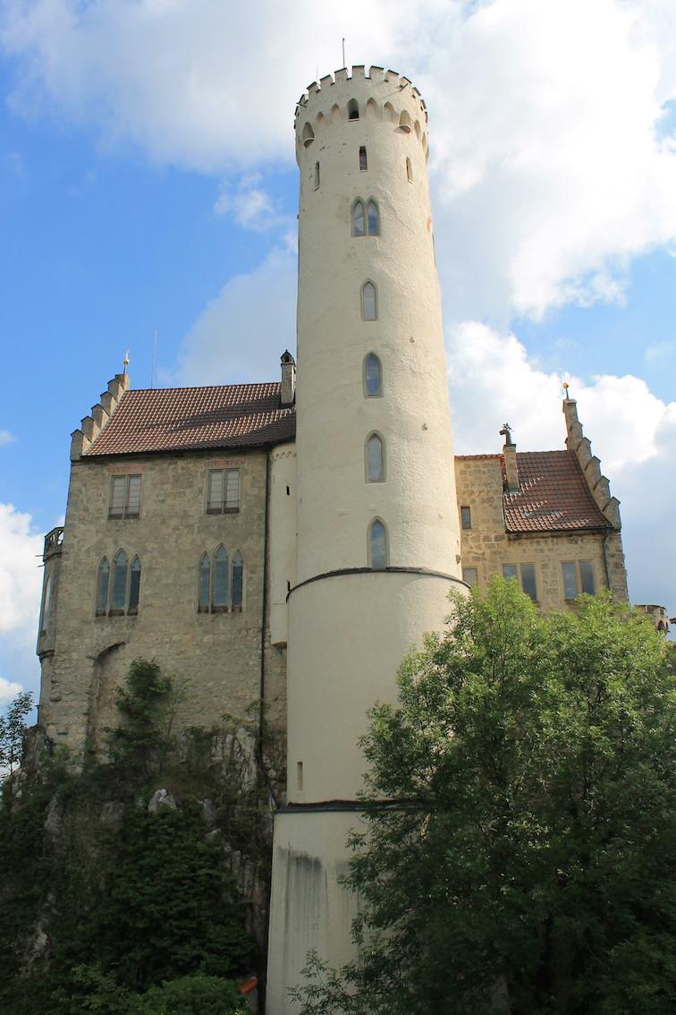 Turm von Schloss Lichtenstein