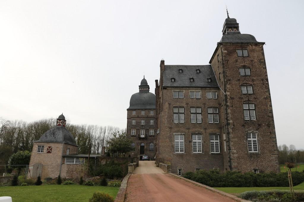 Die Schlossgebäude werden weiter privat genutzt