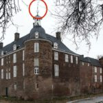 Sturm Niklas stürzt Wetterfahne vom Ringenberger Schloss