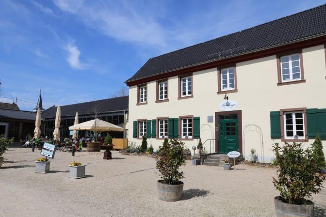 Restaurant Bensbergs Häuschen, ausgezeichnet mit einem Guide-Michelin-Stein