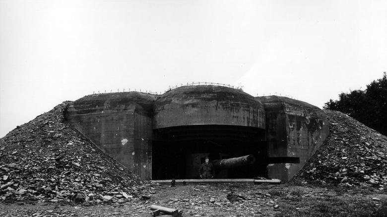 Die Bunker sehen noch weitgehend so aus wie auf diesem Foto vom Juni 1944 / Foto: Flickr  / Normandie / CC BY-SA 2.0