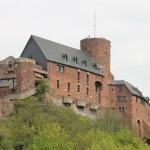 Burg Hengebach: Verhunzter Wiederaufbau