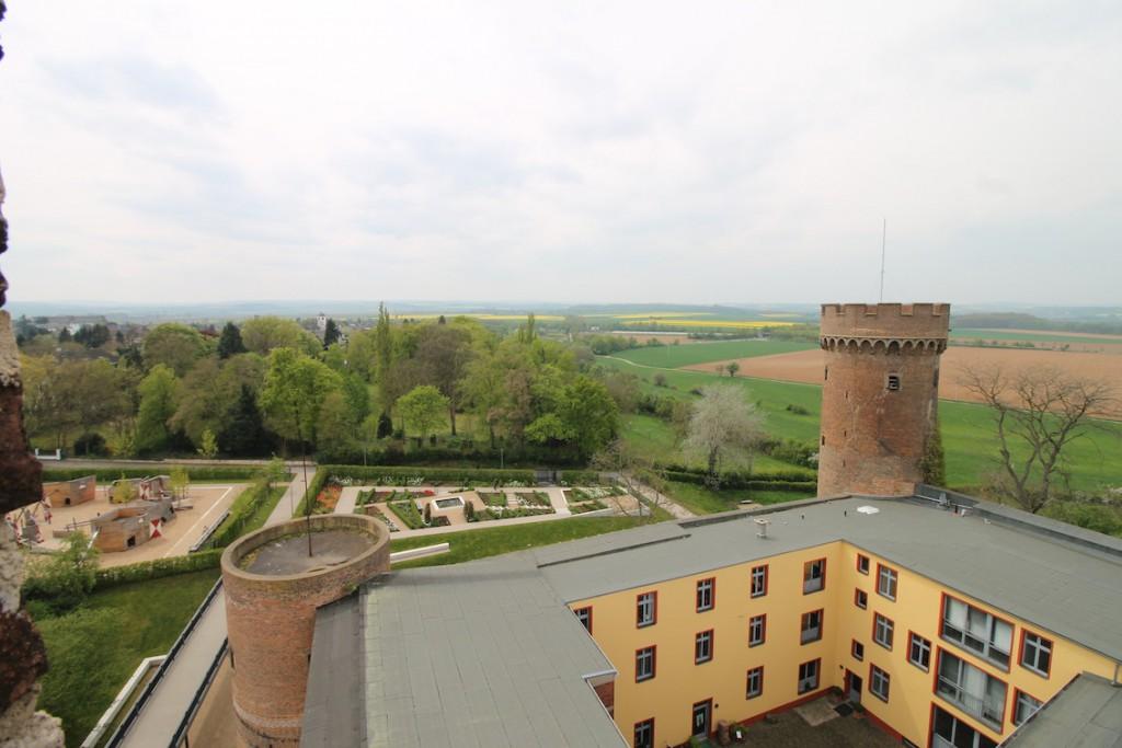 Burg Zülpich: Aussicht vom Burgturm