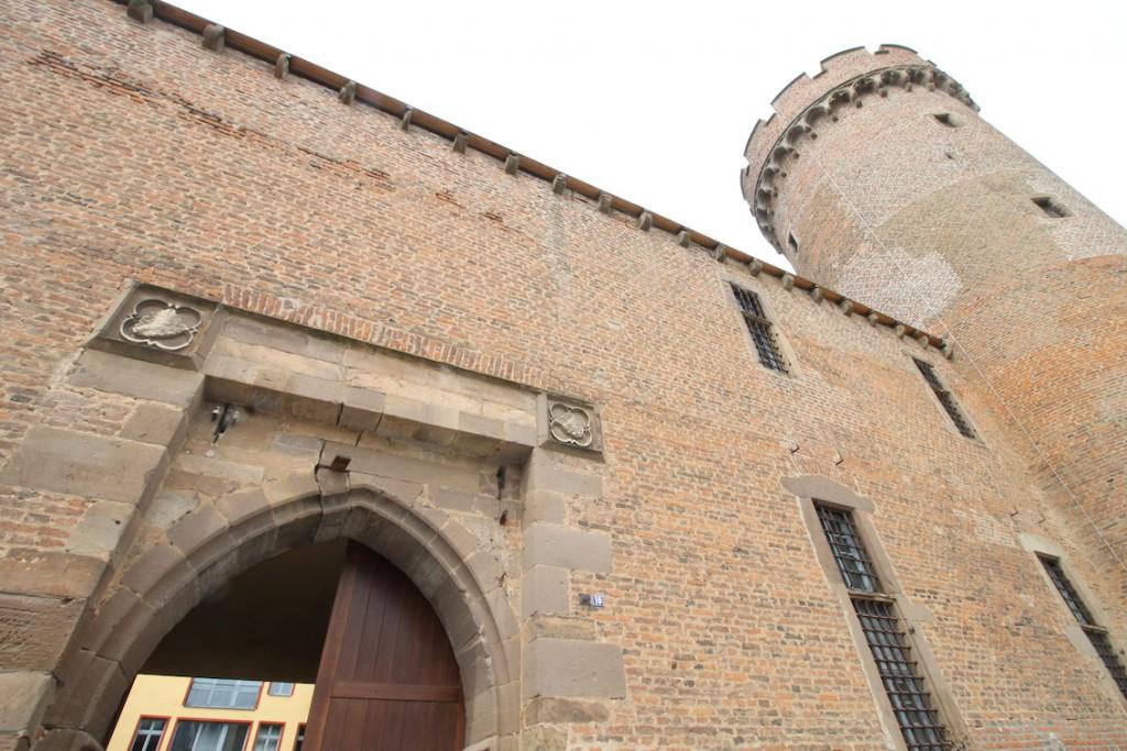 Der Eingang zur Landesburg Zülpich