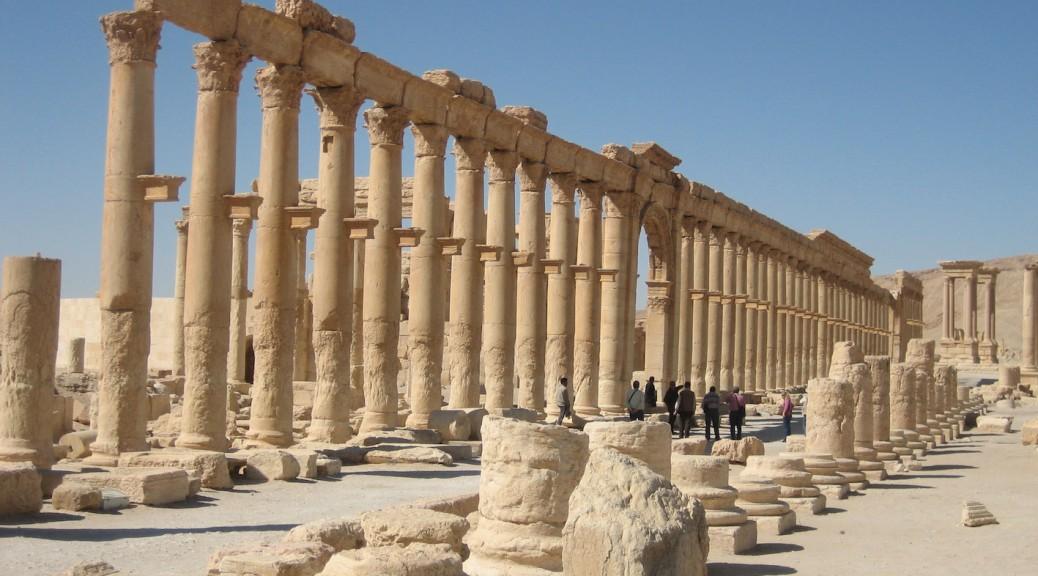 Die Säulenallee in Palmyra / Foto: Burgerbe.de