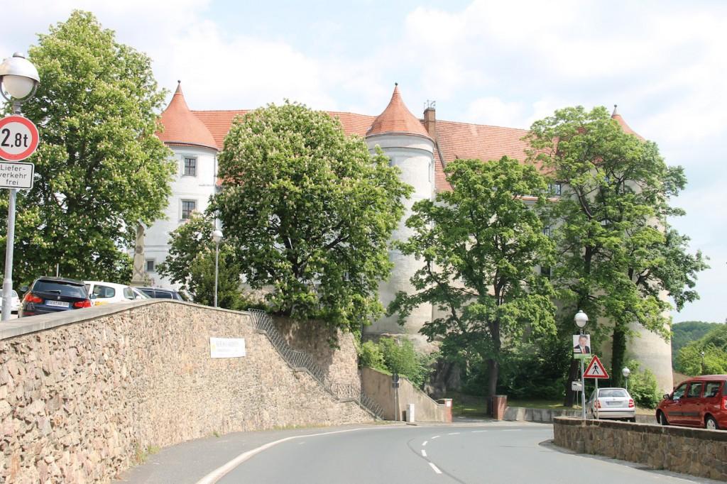 Der Westflügel von Schloss Nossen