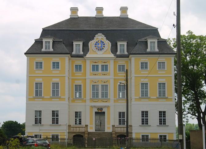 Schloss Wiederau sieht wieder vorzeigbar aus.