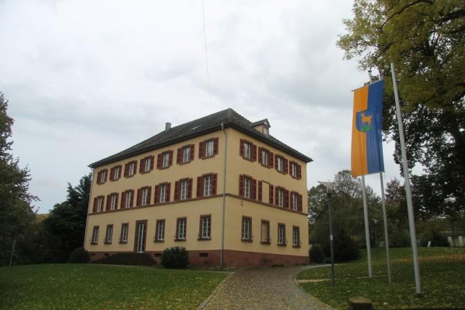 Stauffenbergsches Schloss, Rückseite / Foto: Burgerbe.de
